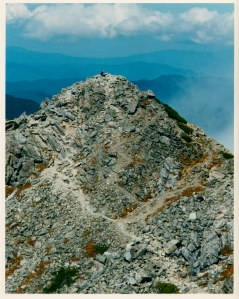 Mountain Meditation in the South Alps (scanned film).