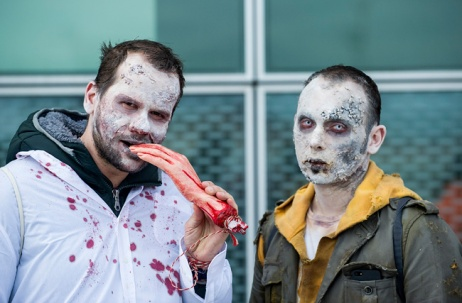 (A zombie walk in Venice)