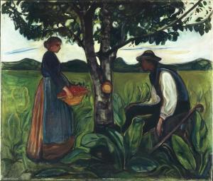 Edvard Munch Fertility 1899 1900 Canica Art Collection