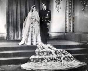 Mandatory Credit: Photo by Associated Newspapers / Associated Newspapers  / Rex USA (472978a) Wedding Day November 1947 Wedding Of The Princess Elizabeth (queen Elizabeth II) And Prince Philip (duke Of Edinburgh) On 20th Nov 1947. Their Royal Highnesses Photographed At The Palace After The Wedding Ceremony. 1947 Wedding Day November 1947 Wedding Of The Princess Elizabeth (queen Elizabeth Ii) And Prince Philip (duke Of Edinburgh) On 20th Nov 1947. Their Royal Highnesses Photographed At The Palace After The Wedding Ceremony. 1947