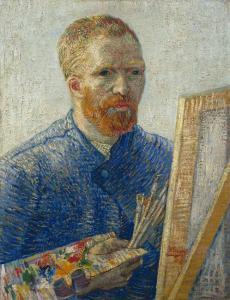 Vincent van Gogh Self-portrait as a painter 1887 88 Van Gogh Museum Amsterdam