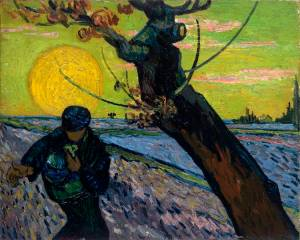Vincent van Gogh The Sower 1888 Van Gogh Museum
